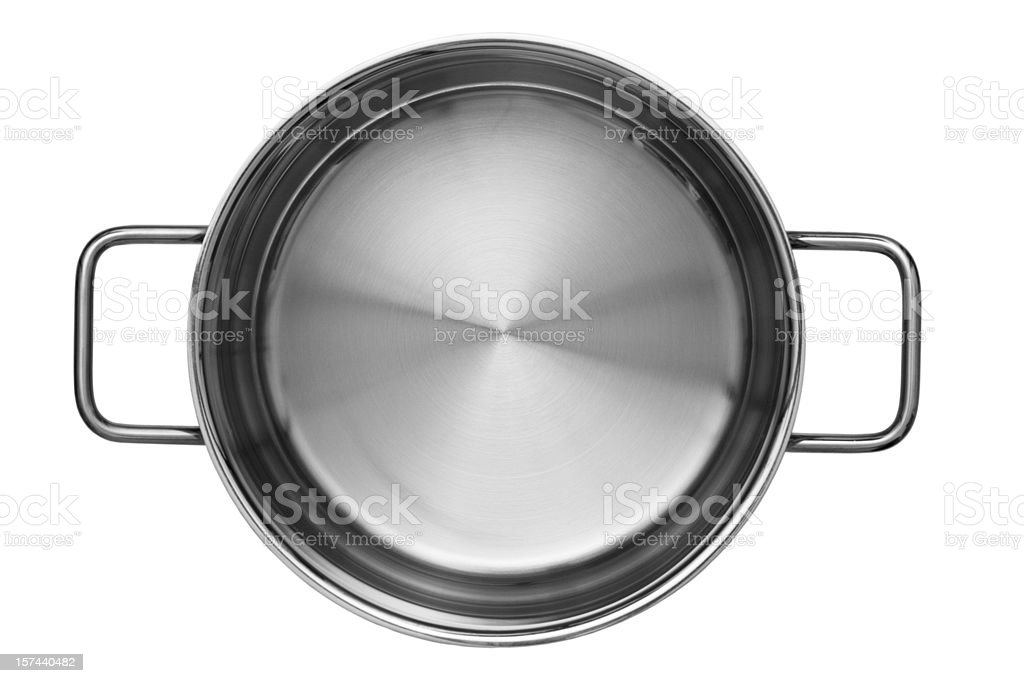Cooking pan stock photo