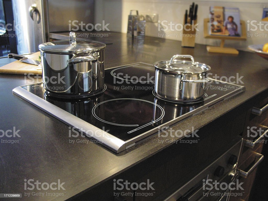 cooking & pans stock photo