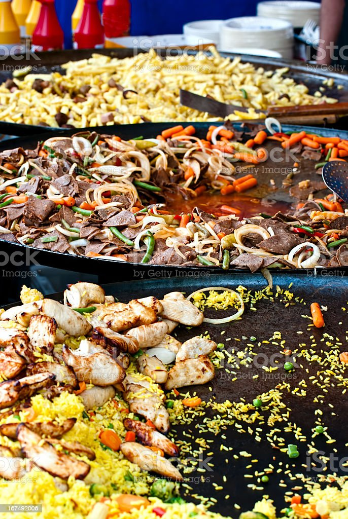 Cooking. royalty-free stock photo