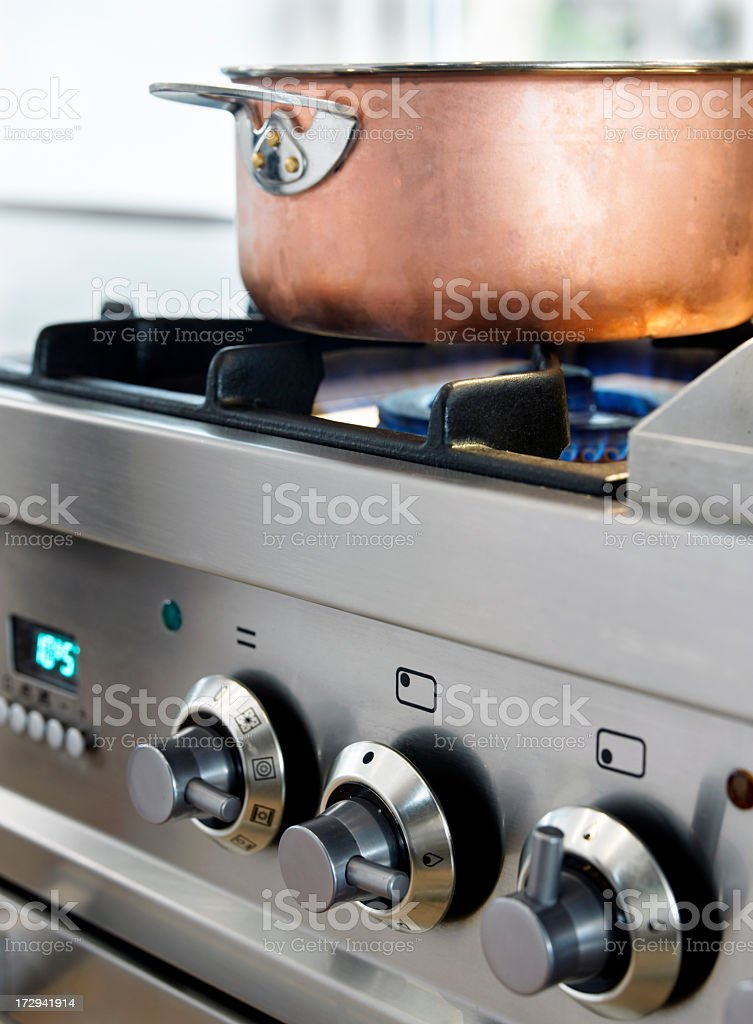 Cooking... stock photo