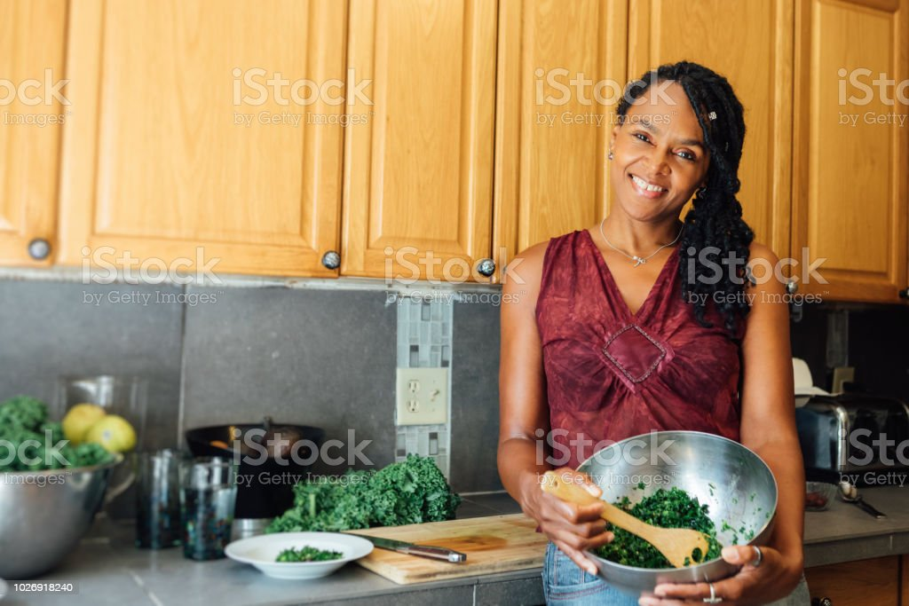 cooking RAW in the kitchen royalty-free stock photo