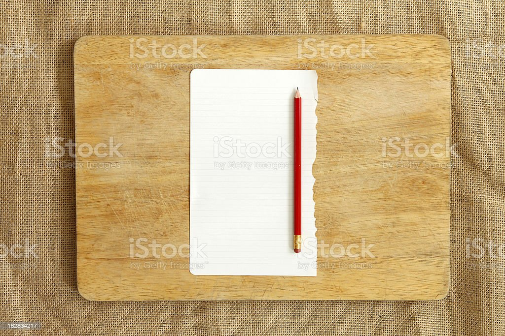 Cooking recipe background stock photo