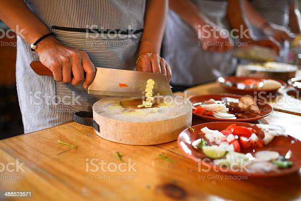 Cooking School Stock Photo - Download Image Now