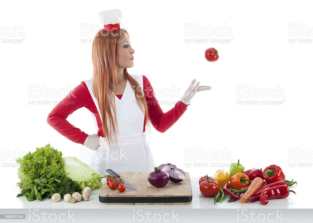 Cooking series royalty-free stock photo
