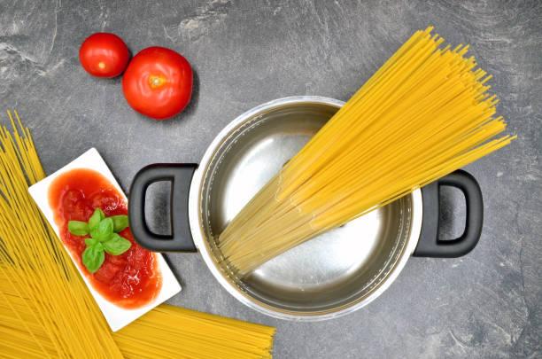 Kochen spaghetti – Foto