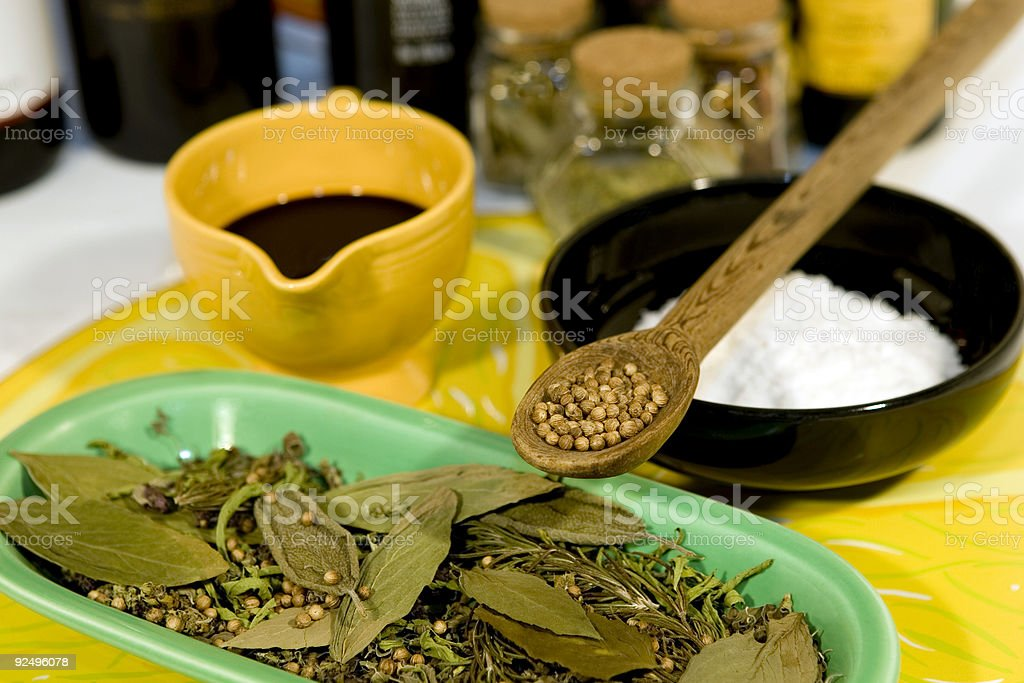 Cooking Spices royalty-free stock photo