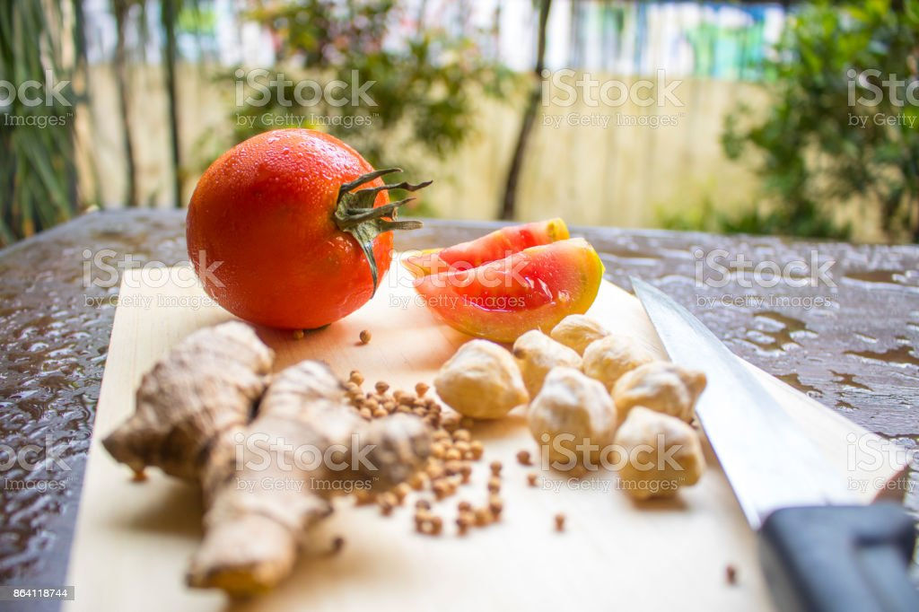 Cooking Spices Vegetables Indonesian Food Asian Food Stock Photo - Download  Image Now
