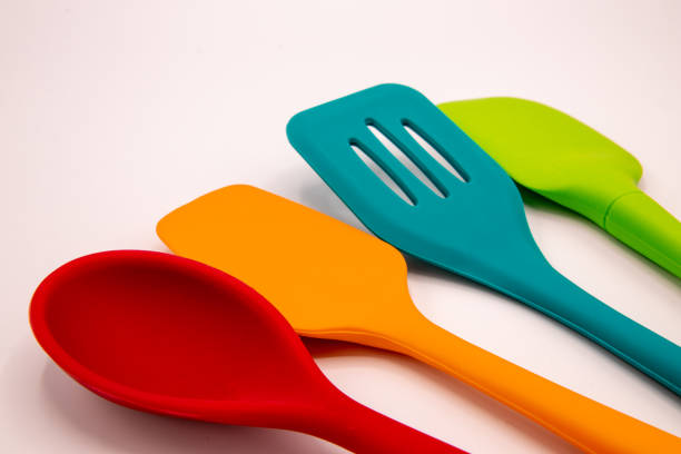 Cooking time multicolor cooking tools silicon stock pictures, royalty-free photos & images