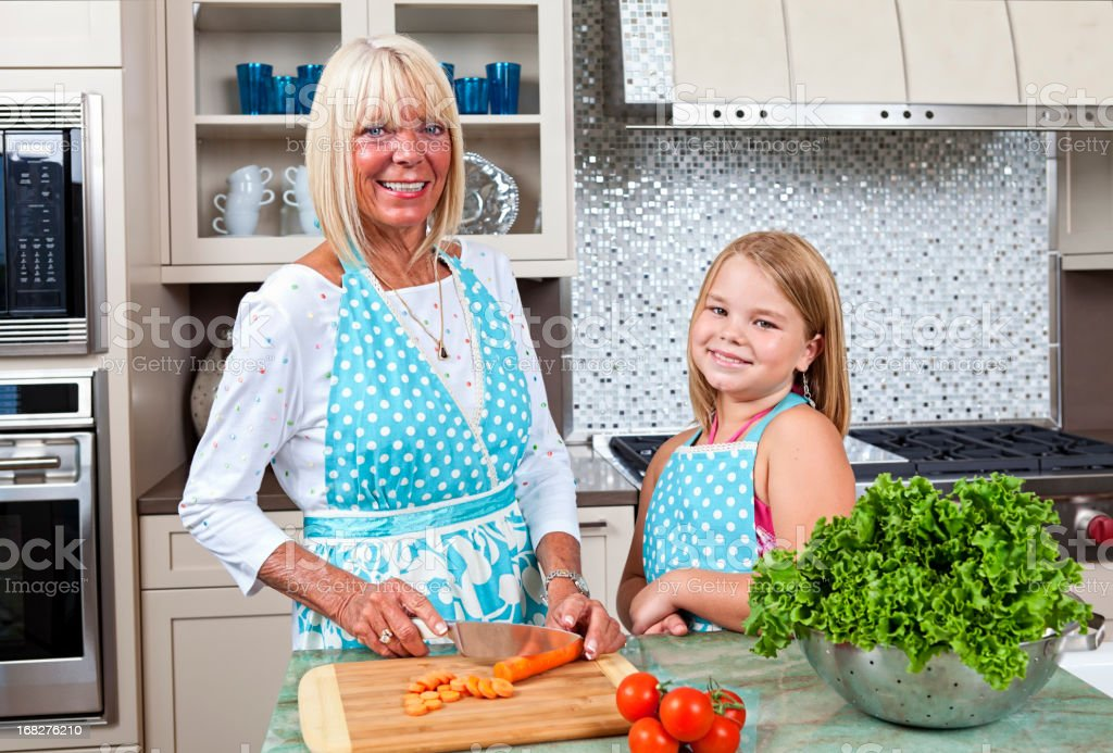 Cooking Time royalty-free stock photo