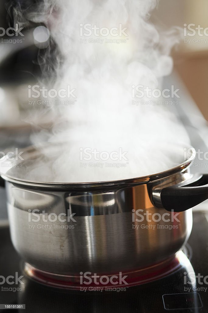cooking water stock photo