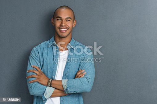 istock Cool african man 544358094