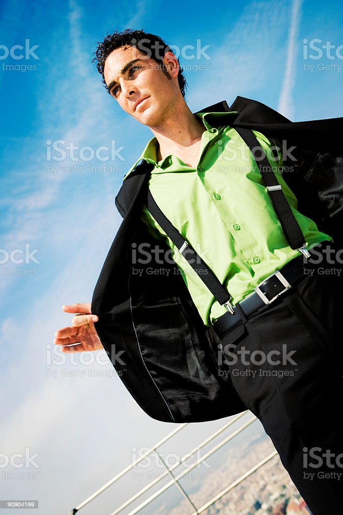 cool and casual stock photo