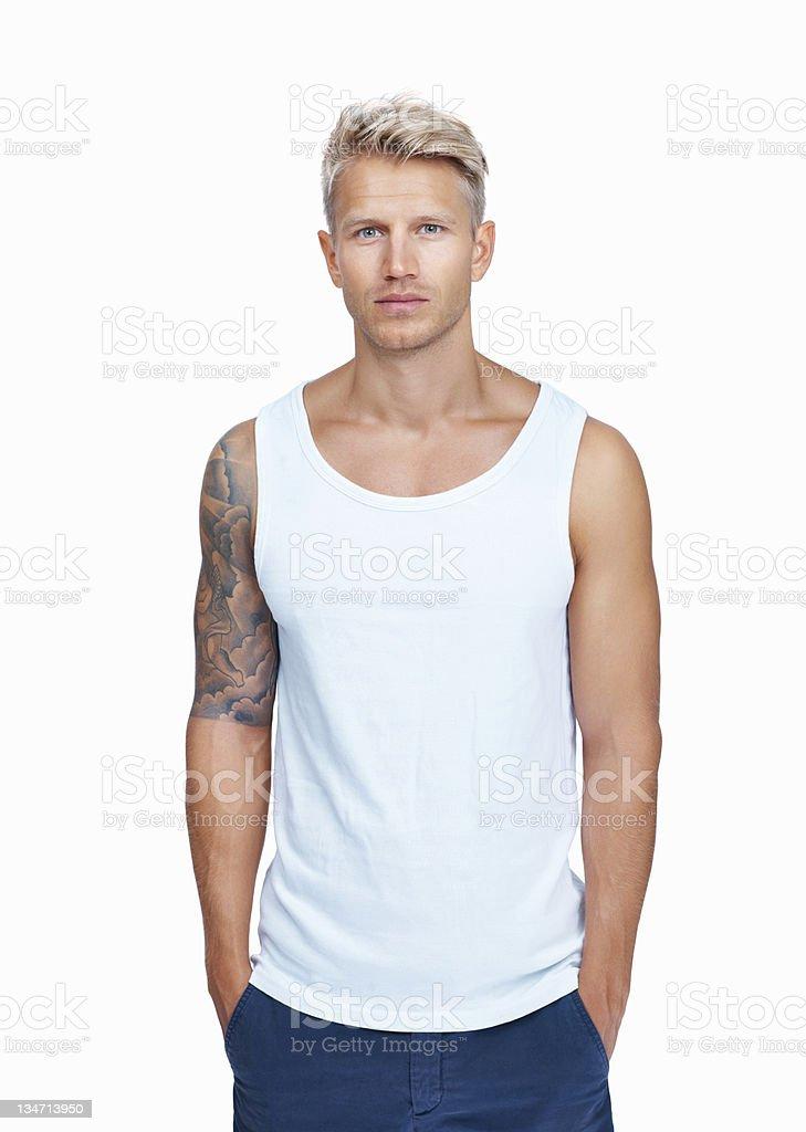Fresco e maschile - foto stock