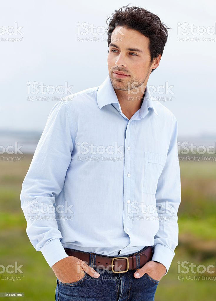 Cool and stylish royalty-free stock photo