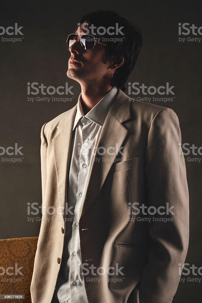 Cool attitude stock photo