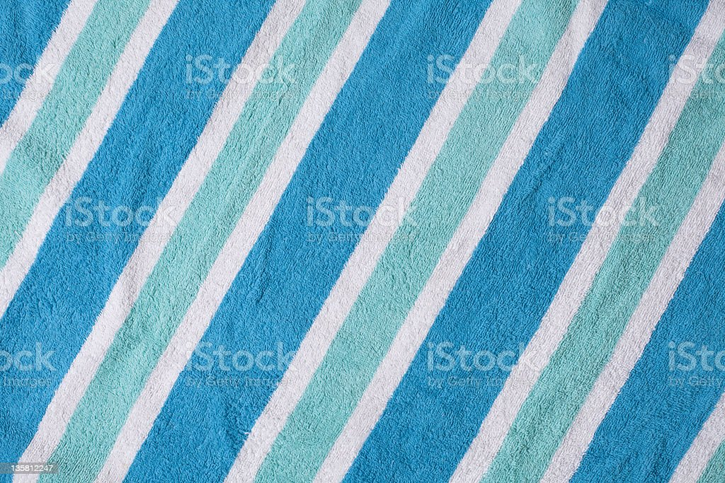 Cool Beach Towel Background stock photo