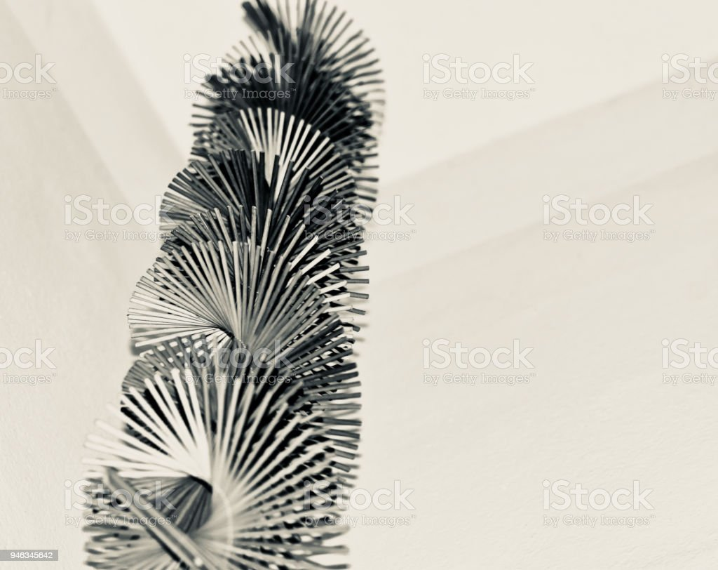 Cool black and white isolated stylish object photograph stock photo