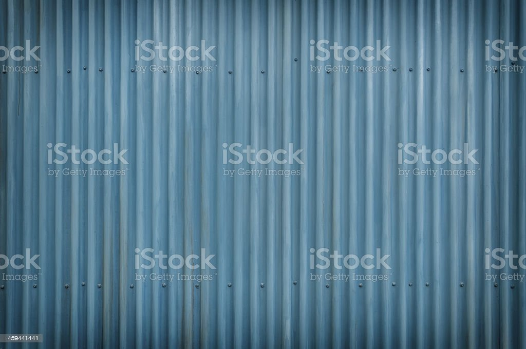 Cool Blue Metal Grunge Background stock photo