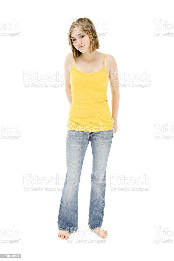 Стильный повседневный Teen стоковое фото