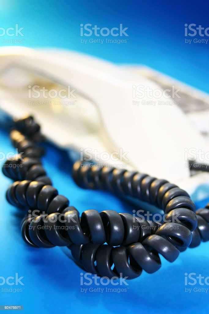 Cool Communications royalty-free stock photo