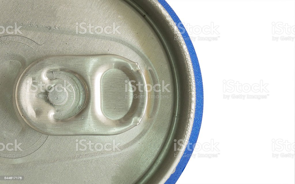 Cool drink can stock photo