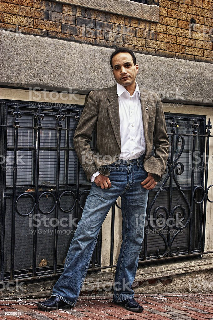 cool dude royalty-free stock photo
