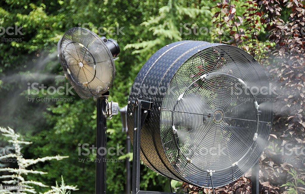 Enfriar los ventiladores foto de stock libre de derechos