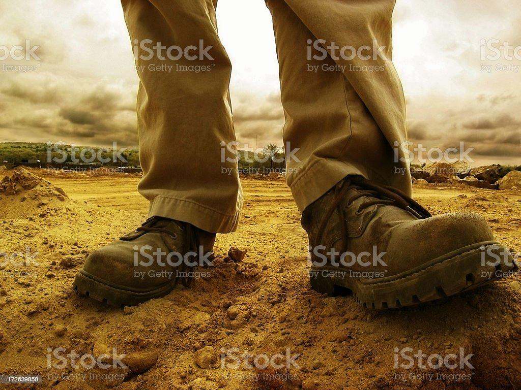 Cool Footwear royalty-free stock photo