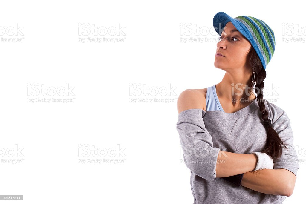 Cool Girl With Attitude Stock Photo Download Image Now Istock