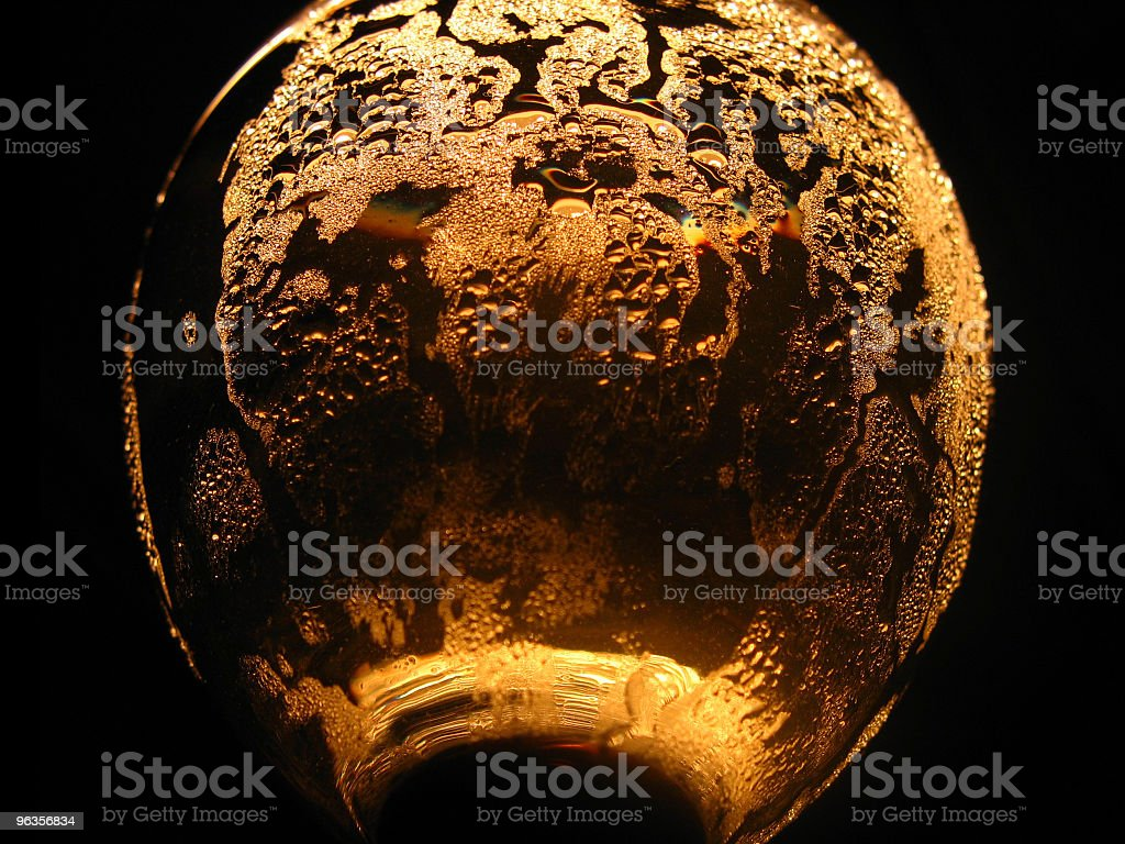 cool glass royalty-free stock photo