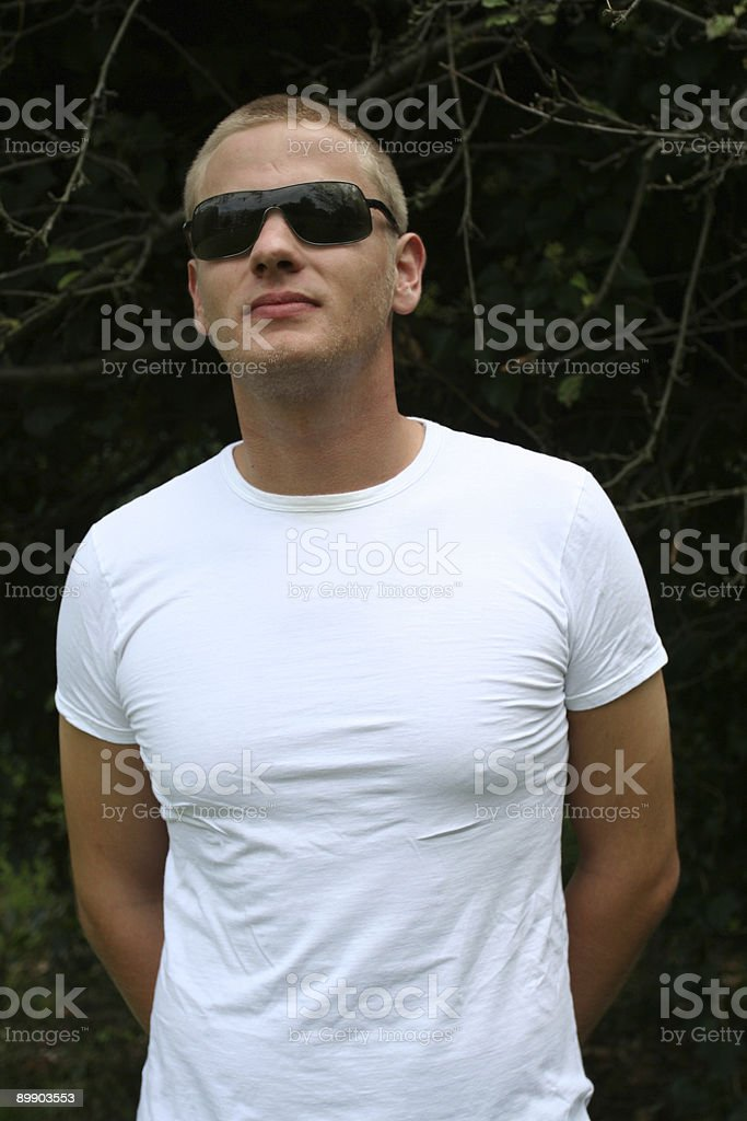 Cool Guy royalty-free stock photo