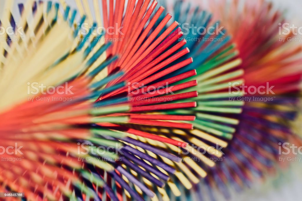 Cool interior decorative elements isolated unique background photo stock photo