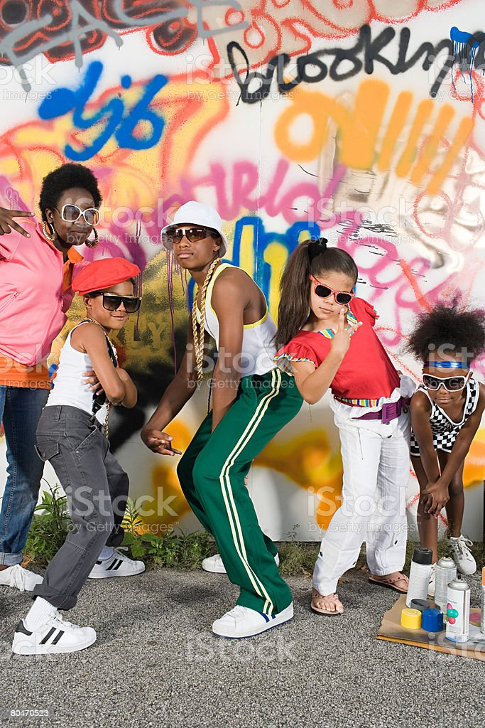 Cool kids royalty-free stock photo