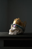 Cool king skull