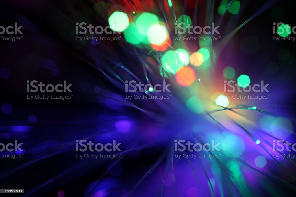 Cool Lights stock photo