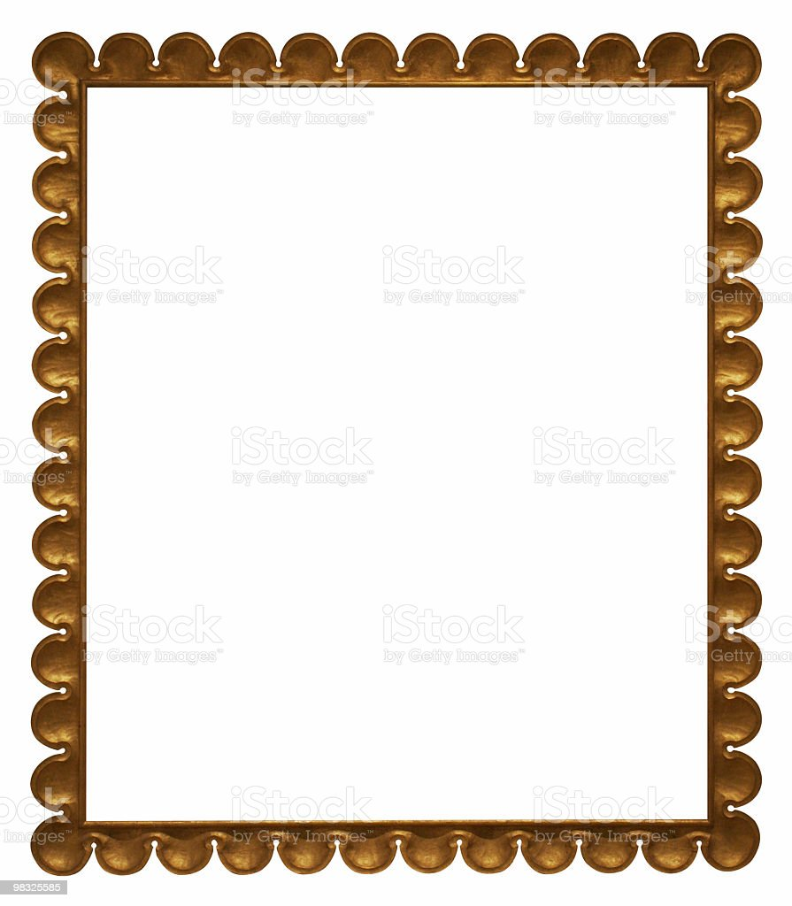 Cool looking frame to use in your design royalty-free stock photo