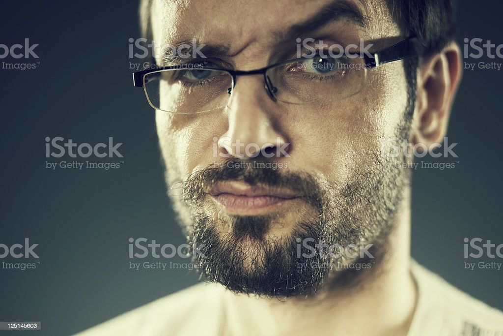 cool man stock photo