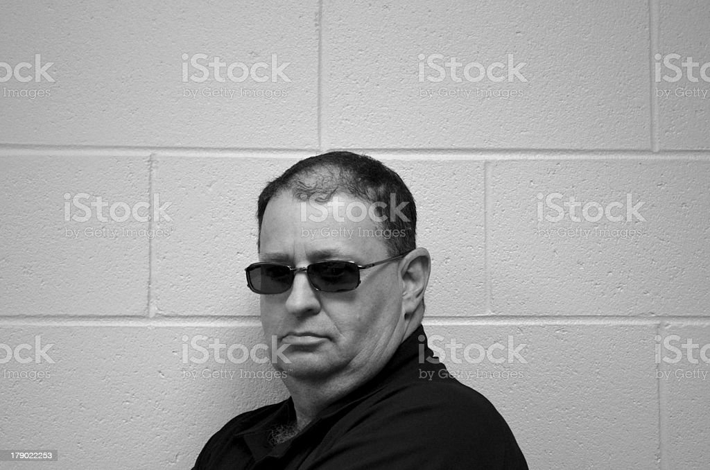 Cool man royalty-free stock photo