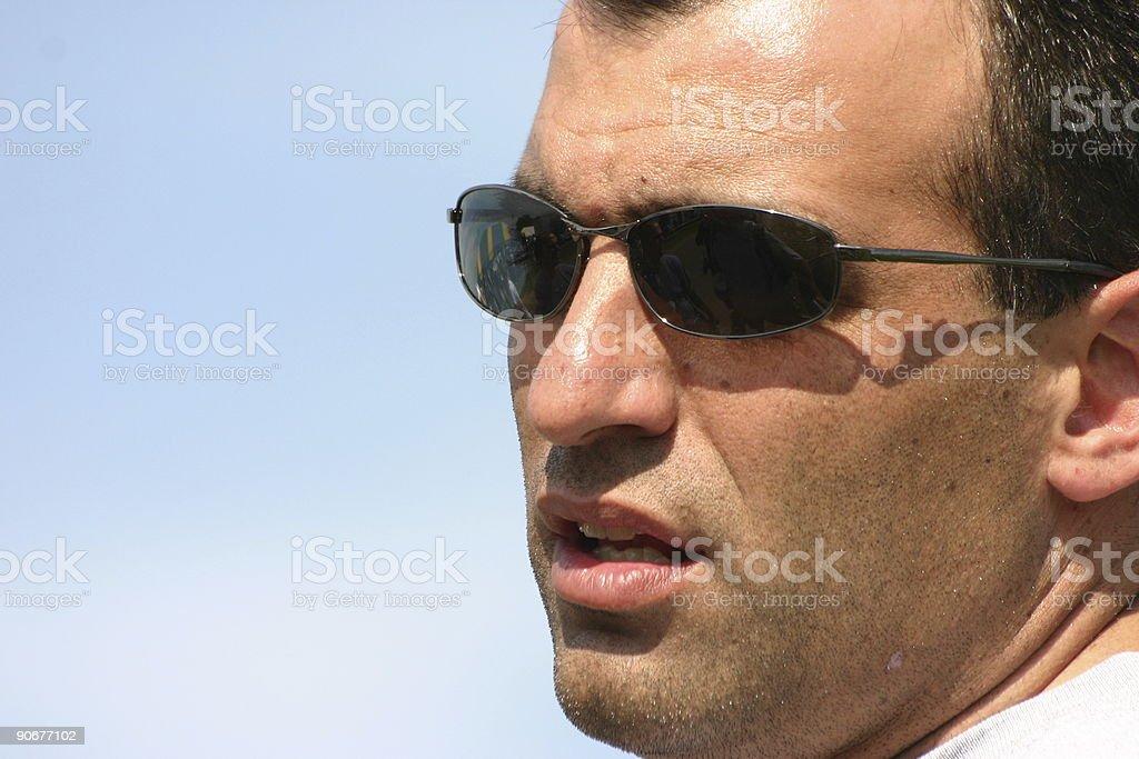 Cool Man royalty-free stock photo