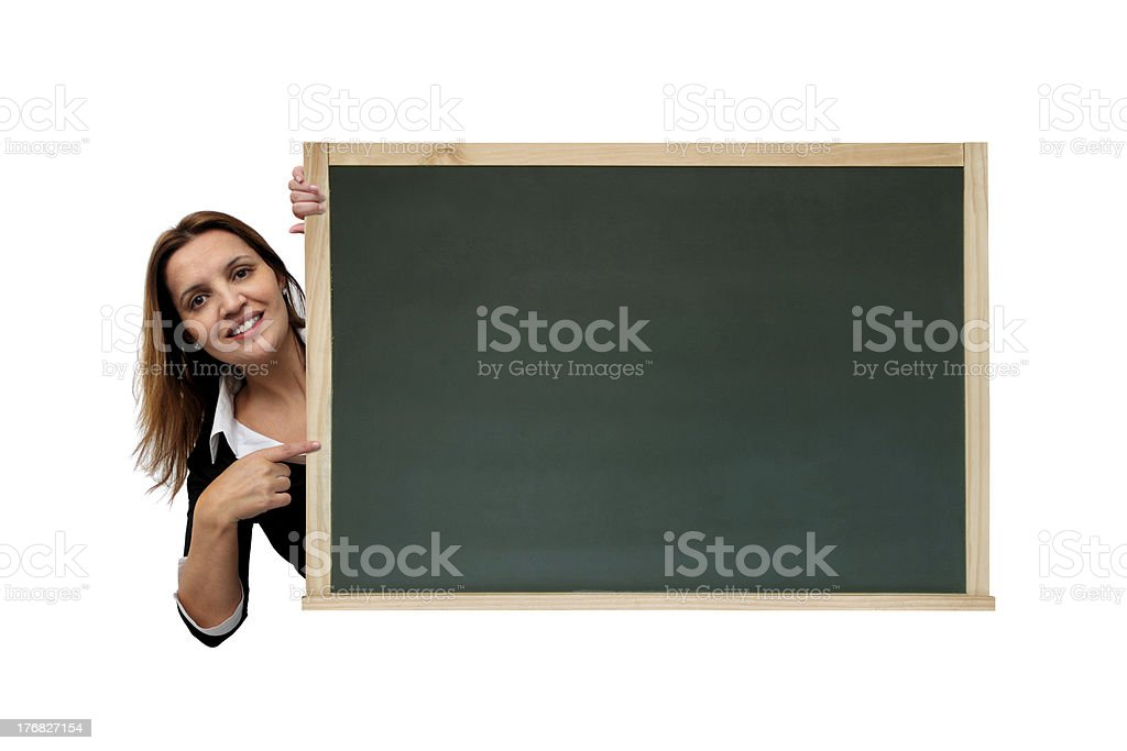 Cool message on chalkboard stock photo
