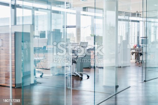 istock Cool Modern Office Cubes 180717293