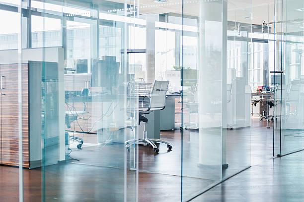 Moderno cubos de escritório moderna - foto de acervo