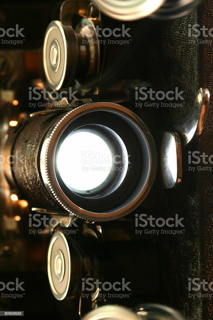 Cool Movie Projector royalty-free stock photo