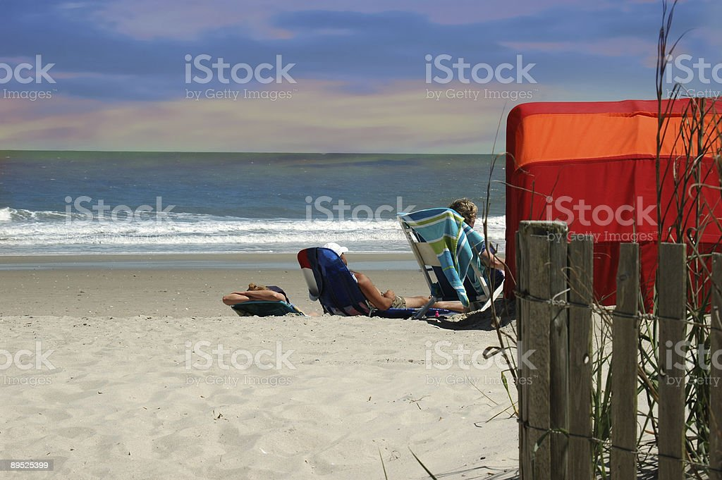 cool ocean scene royalty-free stock photo