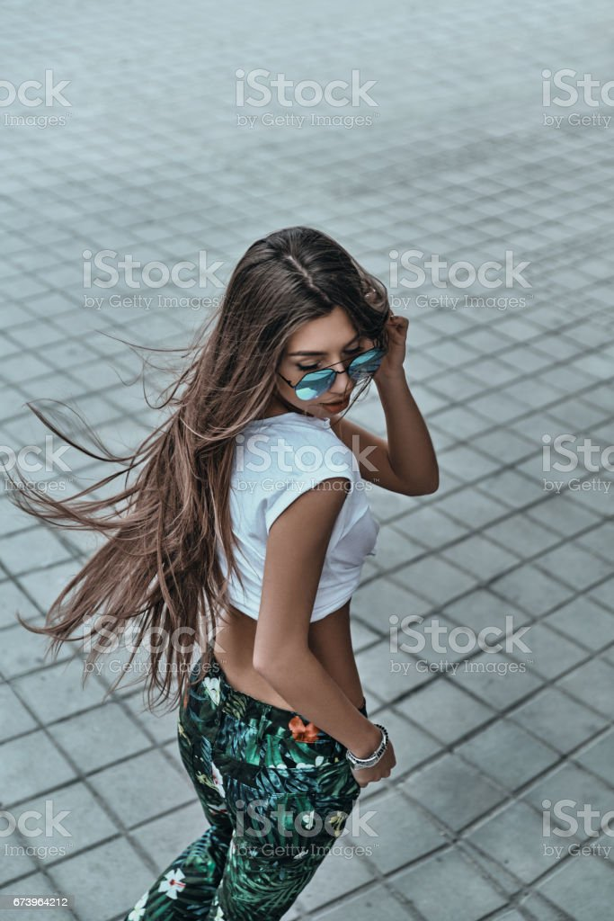 Cool outfit. royalty-free stock photo