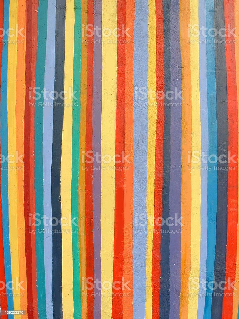 Cool Painted Wall royalty-free stock photo