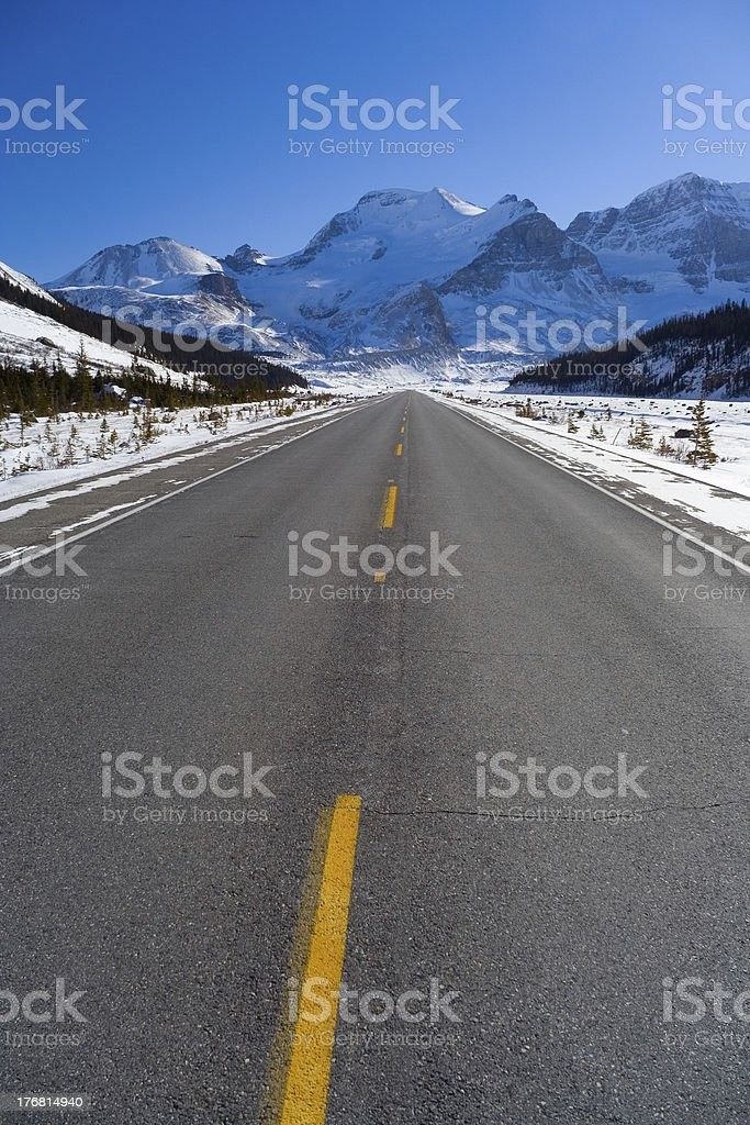 Cool Pavement royalty-free stock photo