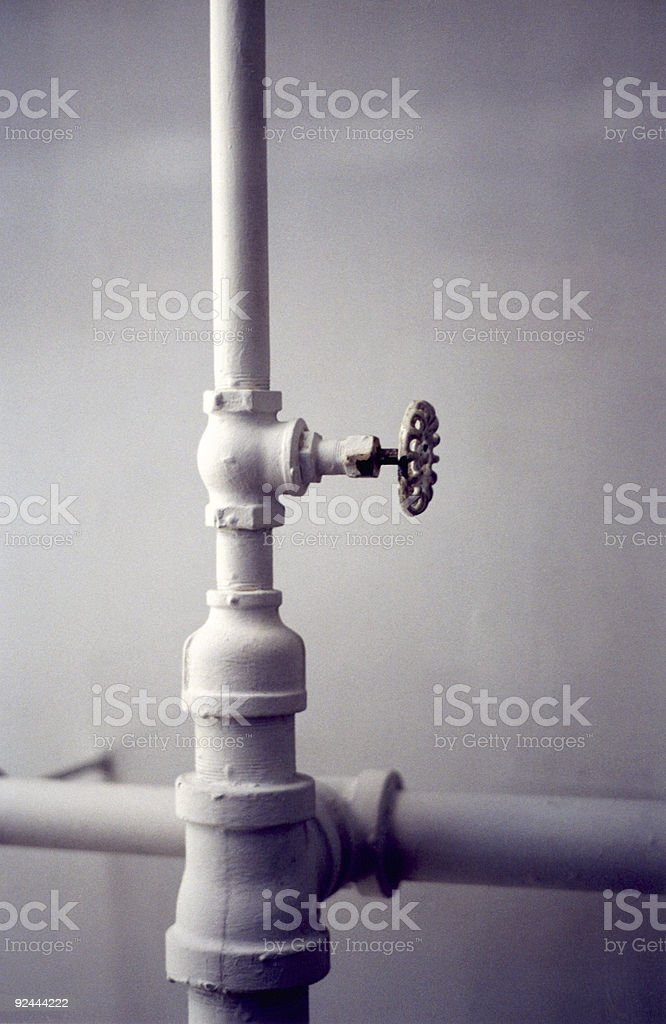 Cool Pipes royalty-free stock photo