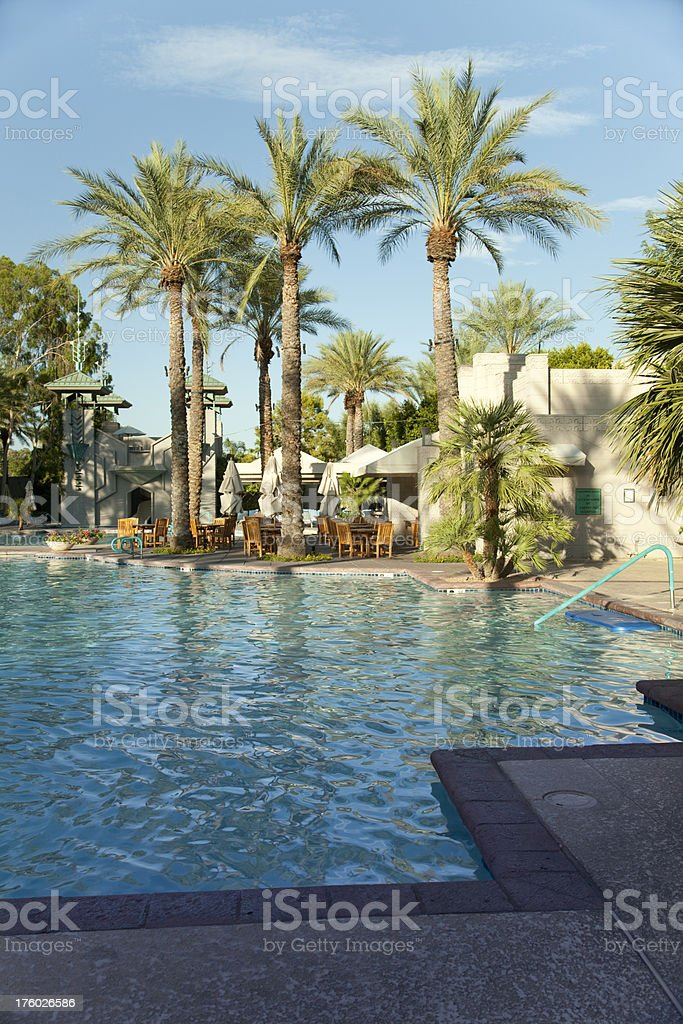 Cool Pool in the Desert royalty-free stock photo