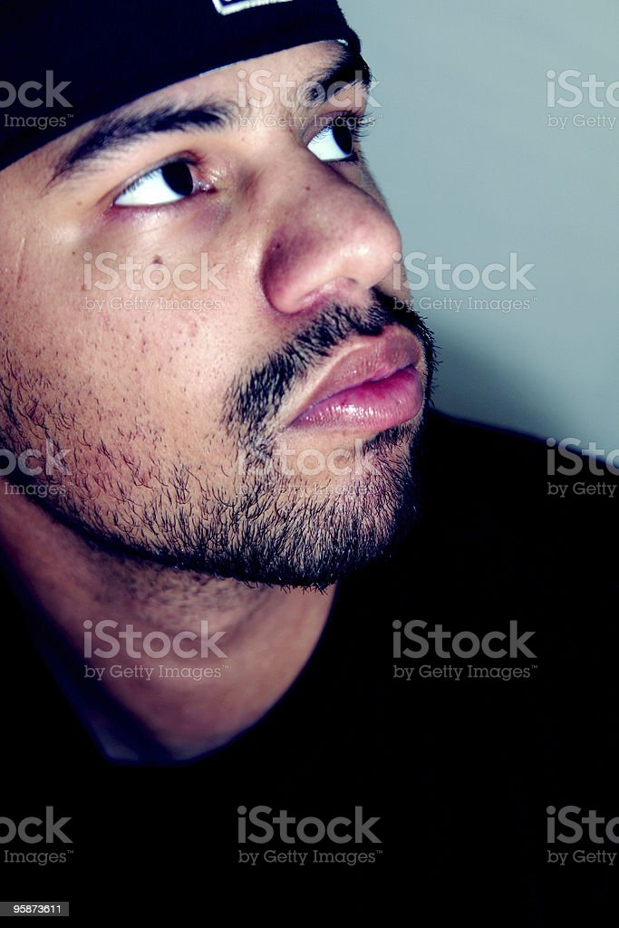 cool portrait royalty-free stock photo